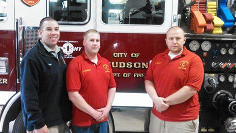 HFDs New National Child Passenger Safety Seat Technicians Nick Pierro Dan Hickey Jr And
