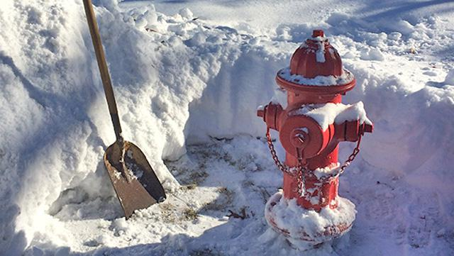 THANK YOU FOR TAKING THE TIME TO CLEAR SNOW FROM AROUND THIS HYDRANT!!! This hydrant is ready to use by firefighters.