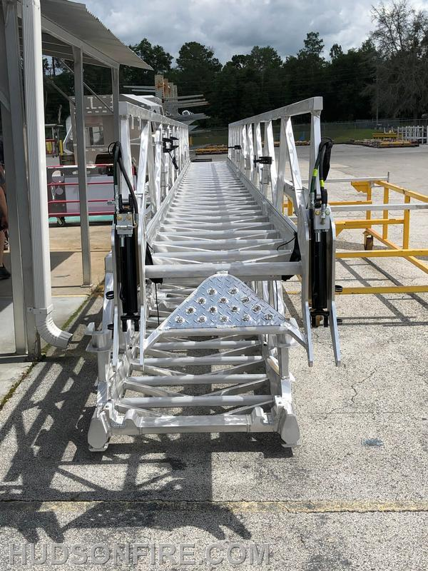 Mid and Fly Section of the Ladder ready for assembly